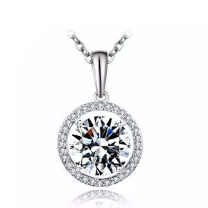 Jewelry - AAA CZ stone pendant necklace for women